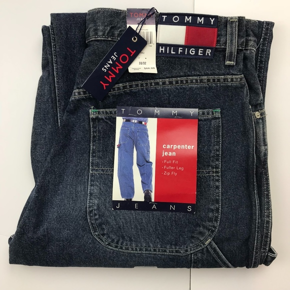 18feeaeb Tommy Hilfiger Jeans | Spellout 90s Carpenter | Poshmark
